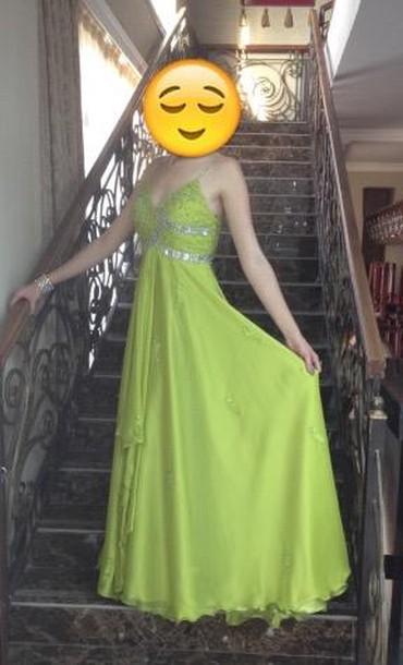 платье в пол на выпускной в Кыргызстан: Продаю шикарное вечернее/выпускное платье. Лиф вручную расшит бусинами