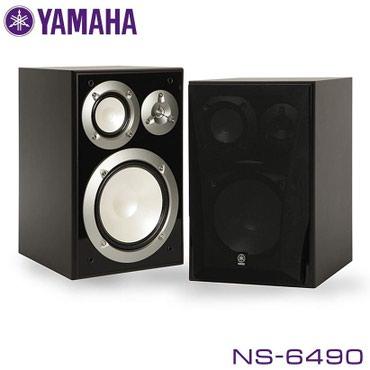 Колонки полочные Yamaha NS-6490 Black в Бишкек