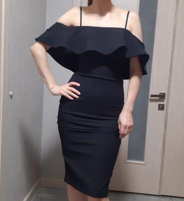 роскошное вечернее платье в Кыргызстан: Вечернее платье 36 размера. Смотрится роскошно и при этом не