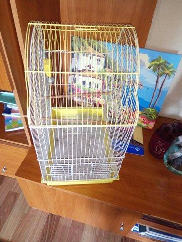 Клетка для попугаев. Состояние на 4+. В в Бишкек