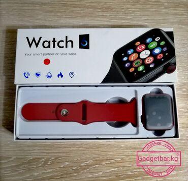Английский язык курсы бишкек - Кыргызстан: Smart watch 6 Язык только Английский!   СМАРТ Watch 6x16 РЕМНИ СЪЁМН