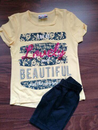 Komplet nove garderobe za devojčice, veličina 104-4