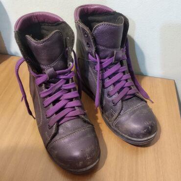 ортопедические ботинки для детей в Кыргызстан: Ортопедические ботинки, деми утепленные можно носить зимой, состояние