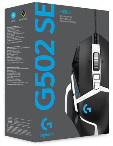isma hero - Azərbaycan: Logitech G502 Hero Special EditionEn ucuz qiymetine!FPS oyunları üçün