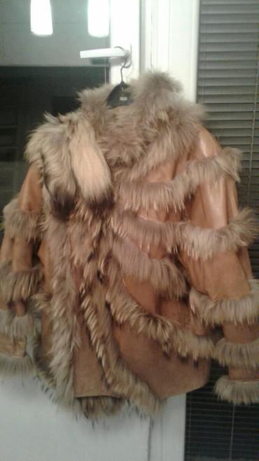 Krzneni kaputi - Nova Varos: Unikatna bunda,rucno radjena u Italiji,puno kostala