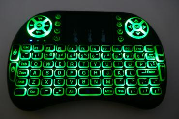 Elektronika - Kopaonik: Mini bezicna tastatura sa uređaj sa pozadinskim