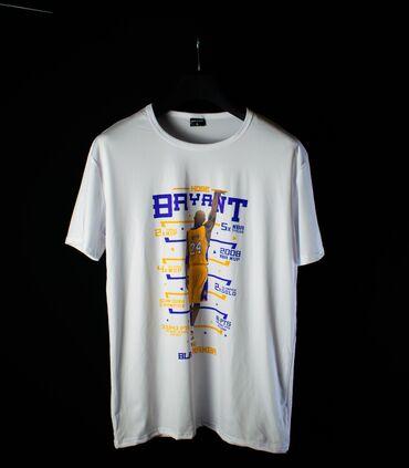 KOBE BRYANT 24* Цена: 800 сом * Размеры: L* Цвет: Белый Эта футболка