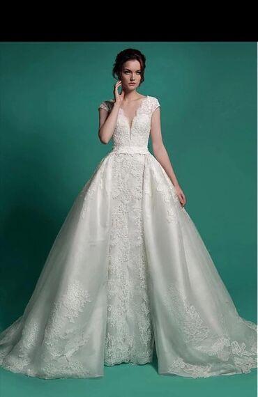 Продаю или сдам на прокат свадебное платье . Платье трансформер рыб