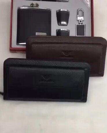 сумка juicy couture в Кыргызстан: Мужской клатч, портмоне, кошелек от Armani с отсеком для