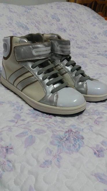 Мужская обувь - Беловодское: Кроссовки benetton,размер 37, покупала в Италии, состояние хорошее