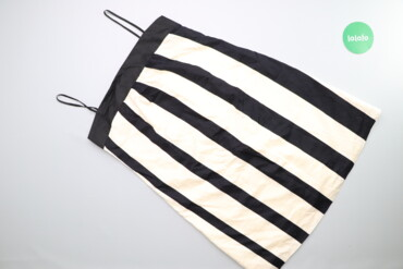 Личные вещи - Киев: Жіноча спідниця у широку смужку Zara Basic, p. L    Довжина: 74 см Нап