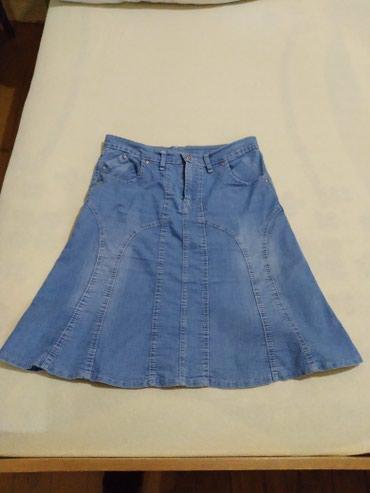 Nova Teksas suknjica,40br,elastin - Vranje