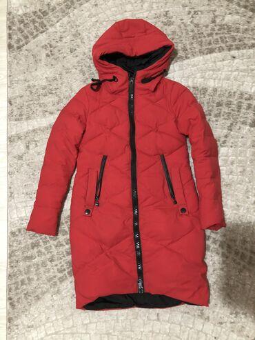Женская Теплая зимняя куртка (42-44р)