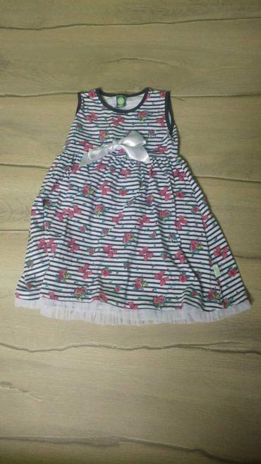 Haljina-leprsava - Srbija: Prelepa pamucna haljina za devojciceVelicina: 6 god,duzina 53cmCena