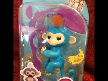 baby sling в Кыргызстан: Baby monkey интерактивная игрушка обезьянка копия