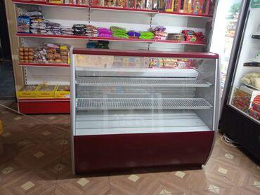 Электроника - Студенческое: Холодильник-витрина   Красный холодильник