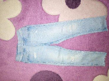 Dečije Farmerke i Pantalone | Pirot: H&M farmerke pantalone slim moderne 86/92SADA 250DIN komad Ako