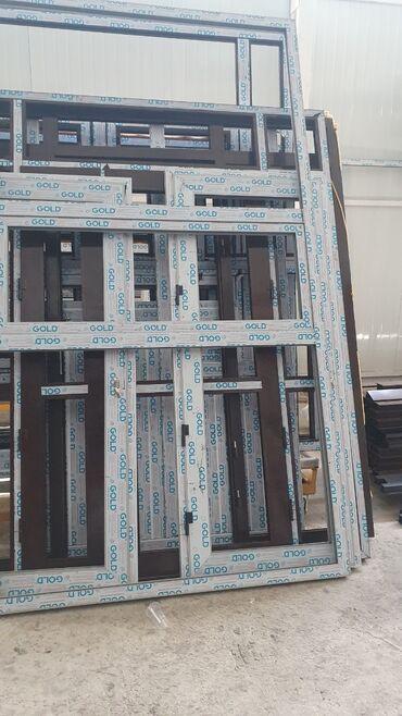 Окна, двери, витражи - Вид изделия: Окна - Бишкек: Окна, Двери, Витражи | Изготовление, Ремонт
