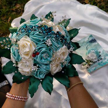 1808 объявлений: Свадебные букеты ручная работа бутоньера в подарок