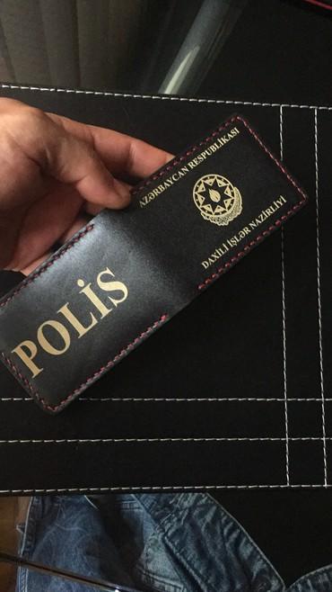 iphone çexolları - Azərbaycan: Polis vəsiqəsi, və maaş kartı ücün dəridən hazirlanmış cexol