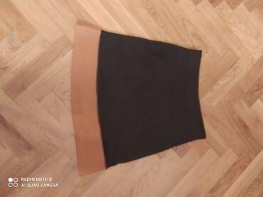 Uppa druppa suknja 36 veličina maslinasto-oker,premekanapreudobna sa