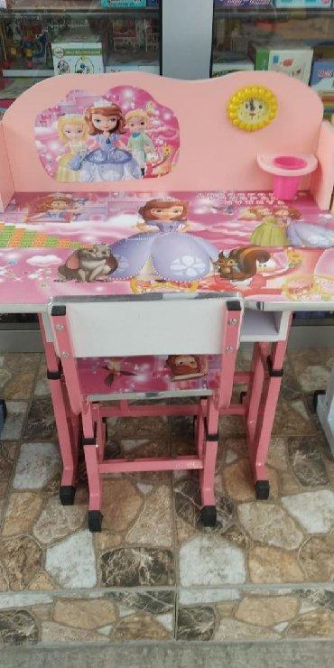 uşaq masaları - Azərbaycan: Usaq ucun masa 70 azn seher daxili catdirilma anbardan satis odenis