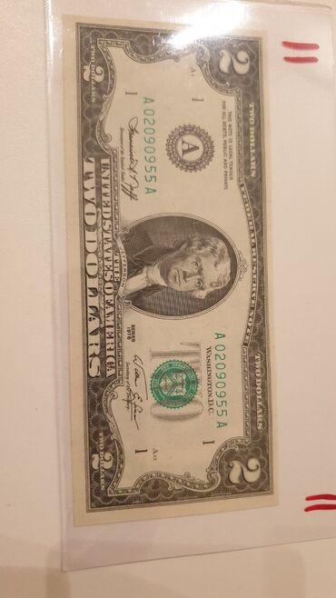 1976 tarihli 2 dolar UNC