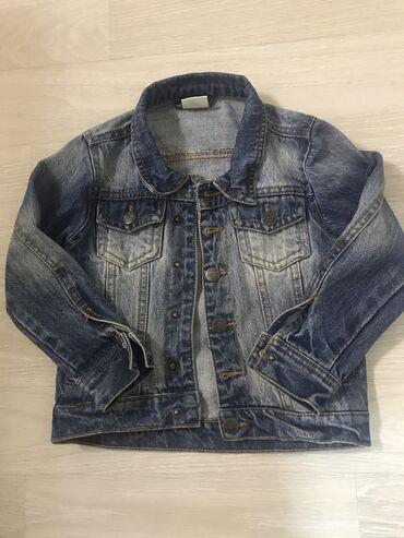 Джинсовая куртка на 3-4 годика