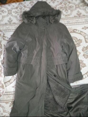 Теплое пальто 48размер