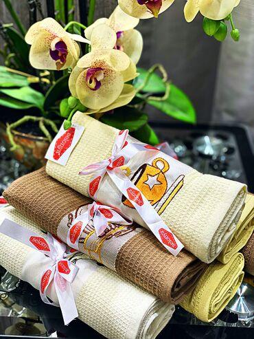 вышивка бишкек in Кыргызстан | ДРУГОЙ ДОМАШНИЙ ДЕКОР: Набор полотенец из 100 % хлопка отличное приобретение для любой кухни
