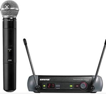 Радио микрофон SHURE PGX4 оригинал,өзүн в Бишкек