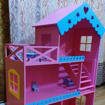 Детский мир - Кара-Балта: Кукольный домик для девочки. Домик для ребенка из фанеры. Домик барби