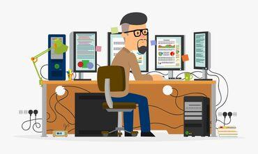 Системный администратор windows - Кыргызстан: Нужен системный администратор, со знанием пк и ноутбуков, wi-fi
