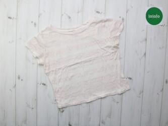 Женская укороченная футболка    Длина: 43 см Пог: 44 см Низ: 41 см Сос