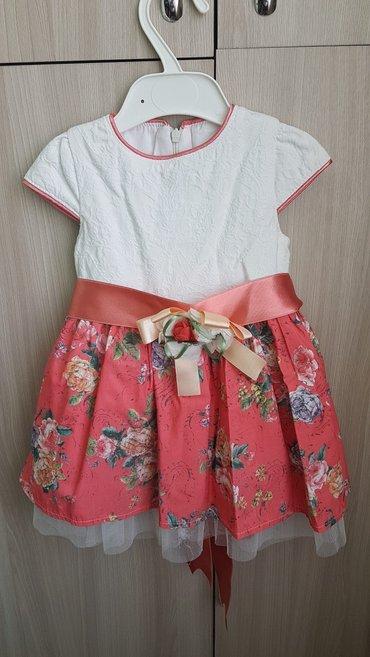 Платье на 1,5 годика. б/у. на рост 80-85 см в Бишкек