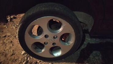 б у резина летняя в Кыргызстан: Продаю диски 175-50-r15 резина норма лета
