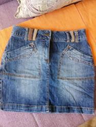 Ostala dečija odeća | Nis: Tinejdz suknjica, D 34,F/B 36,GB 8,I/E38.Obim struka 74cm,duzina 39cm
