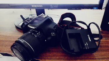 фотоаппарат canon eos 1100d в Кыргызстан: Canon EOS 1100D (название в Северной Америке — Canon Rebel T3, в