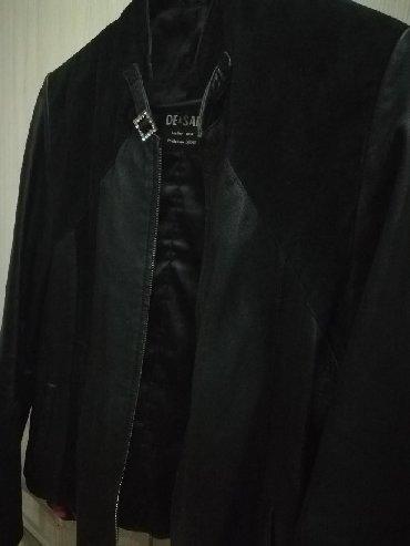 замшевые куртки в Кыргызстан: Кожанная куртка с замшевыми вставками, воротник стоечка. Очень