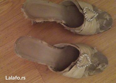 Prodajem ženske papuče br 36, shabby, ortoped peta cena 750 dinara - Belgrade