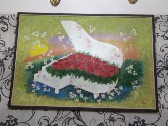portret - Azərbaycan: Salam portret elle ishlemedir original temiz ish. Ressamin imzasida