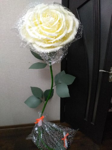 Спрей тонкий вкус - Кыргызстан: Роза светильник из изолона! Высота 1.70 см Прекрасное украшение для