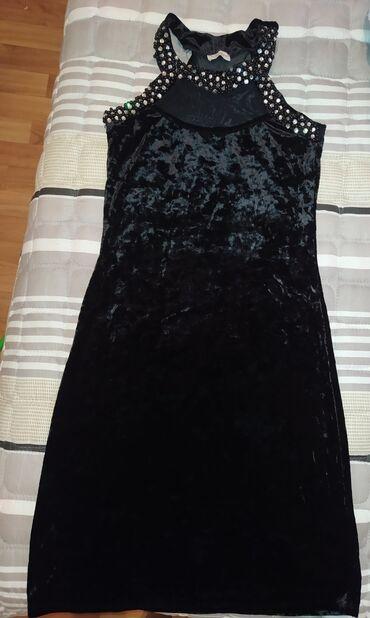 черное длинное платье в Кыргызстан: Бархатное платье Чёрное  Турция  По фигуре  Ниже колена