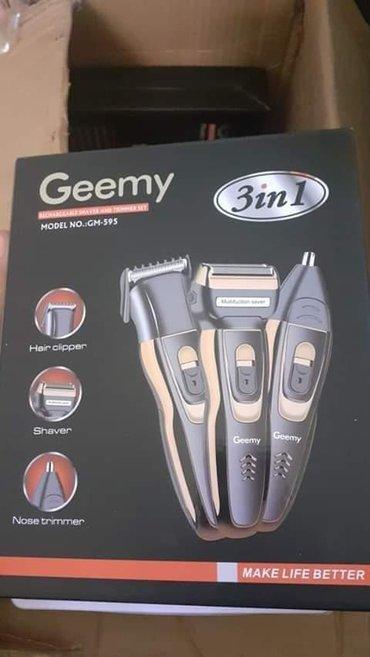 Masinica za kosu ,brijac i  trimer za nos  3in1