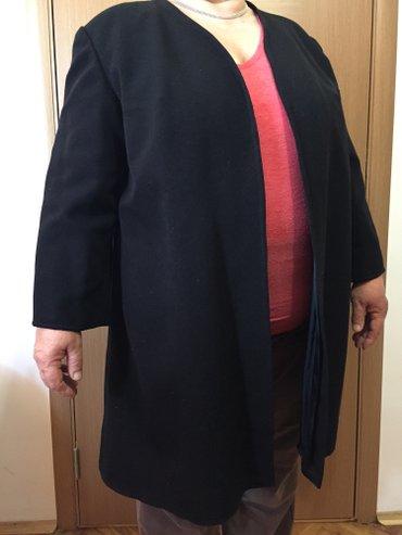 Crni kaput- sako bez dugmadi. Radjen po meri, velicina otprilike xxl. - Palic