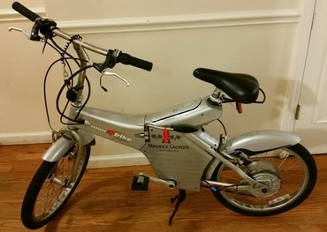 MINI E BIKE LEE LACOCCA LITHIUM POWERED RARE! ELECTRIC BICYCLE - Knic