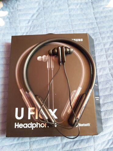 Наушники беспроводные оригинальные SAMSUNG U FLEX HeadphonesДля