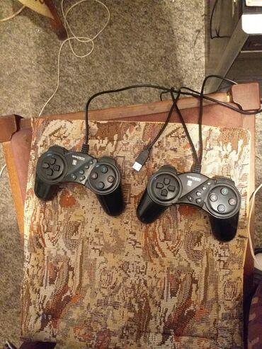 Elektronika - Petrovac na Mlavi: 2 Dzojstika na USB za PC za Igre. U odlicno, su stanju sve lepo radi