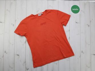 Женская футболка от бренда Esprit,р.L Длина: 56 см Плечи: 37 см Пог: 4