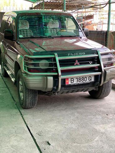 сколько стоит шины в Кыргызстан: Mitsubishi Pajero 3.5 л. 1998